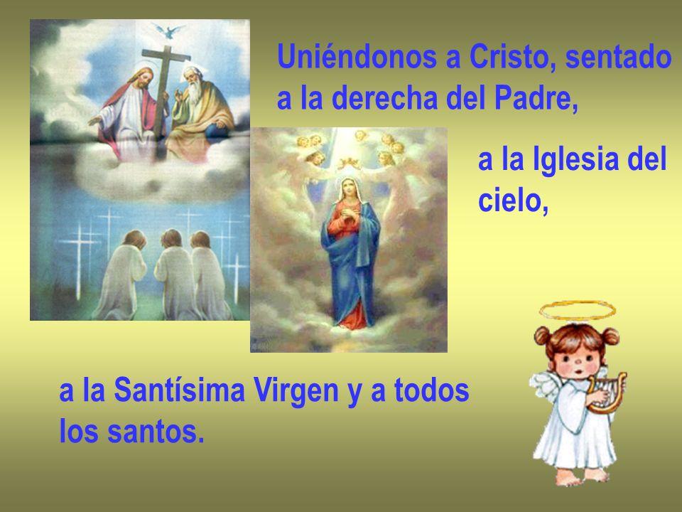 Uniéndonos a Cristo, sentado