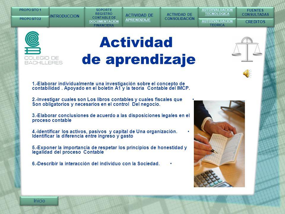 Actividad de aprendizaje