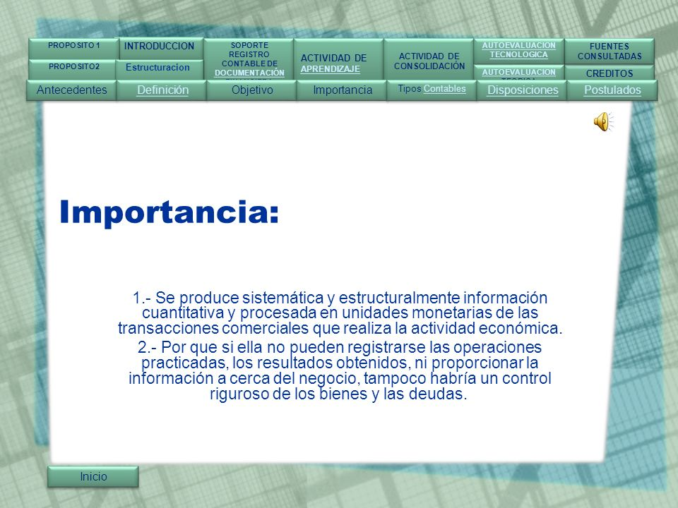 INTRODUCCION SOPORTE. REGISTRO. CONTABLE DE. DOCUMENTACIÓN. FINANCIERA. ACTIVIDAD DE. APRENDIZAJE.