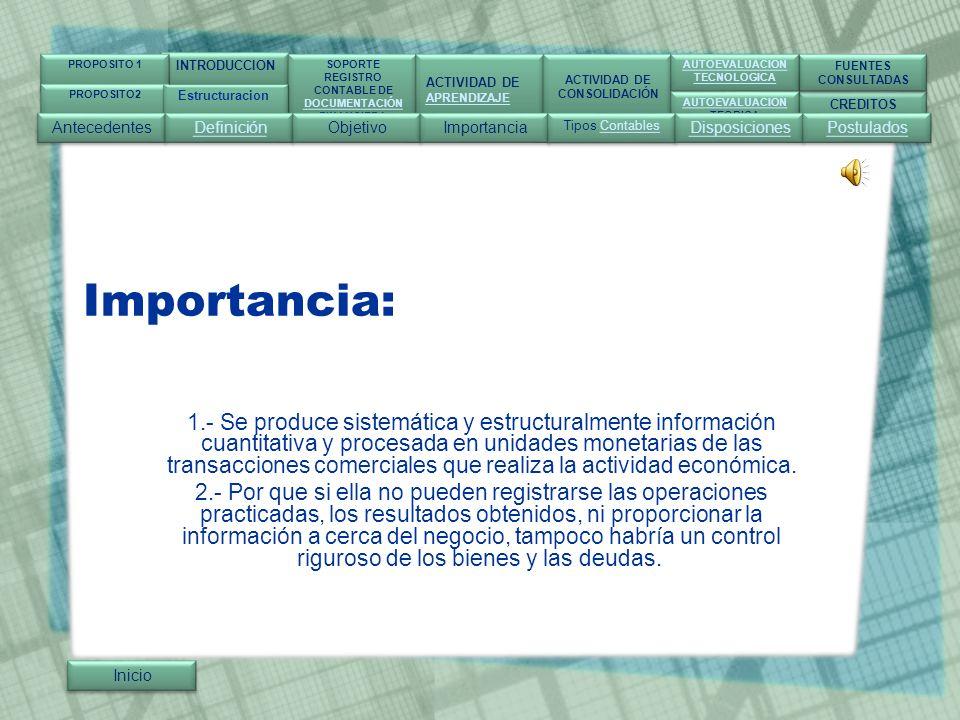 INTRODUCCION SOPORTE. REGISTRO. CONTABLE DE. DOCUMENTACIÓN. FINANCIERA. ACTIVIDAD DE. APRENDIZAJE.
