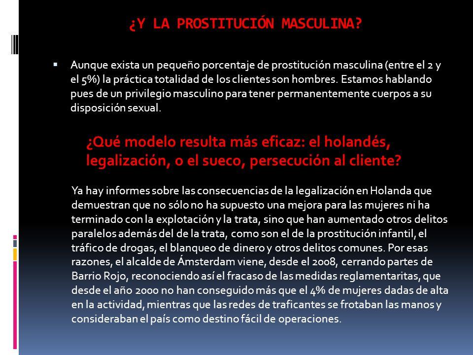 ¿Y LA PROSTITUCIÓN MASCULINA