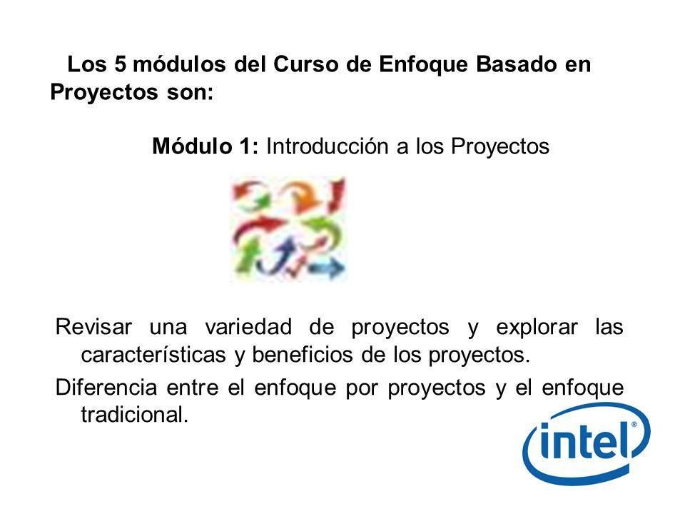 Módulo 1: Introducción a los Proyectos