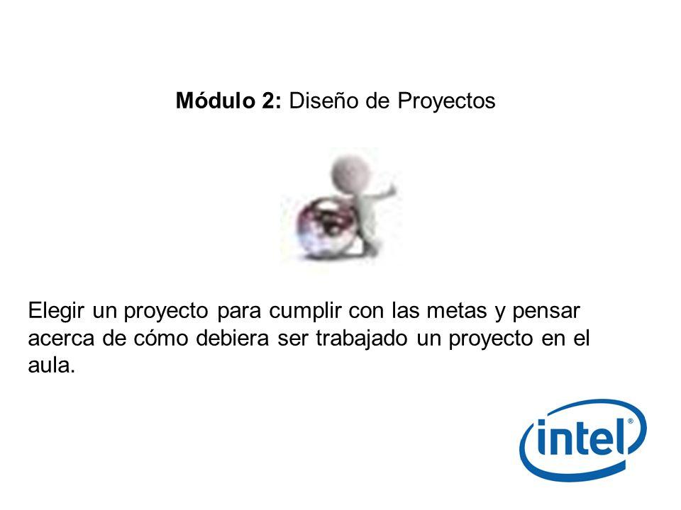 Módulo 2: Diseño de Proyectos
