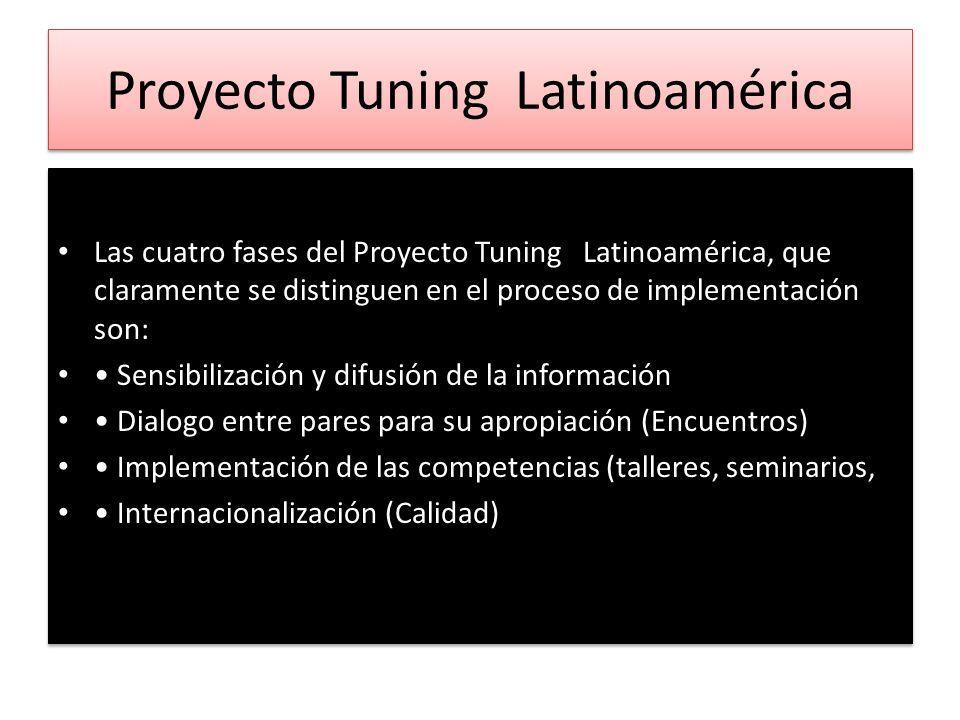 Proyecto Tuning Latinoamérica