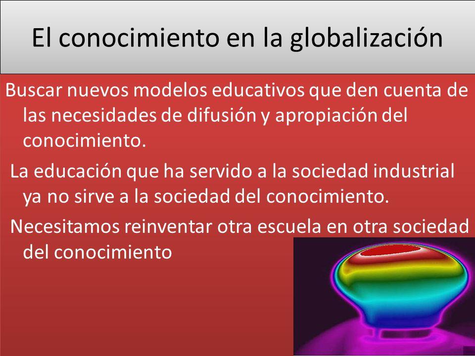 El conocimiento en la globalización