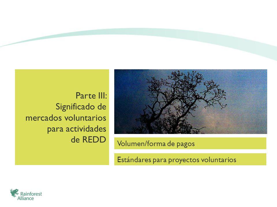 Significado de mercados voluntarios para actividades