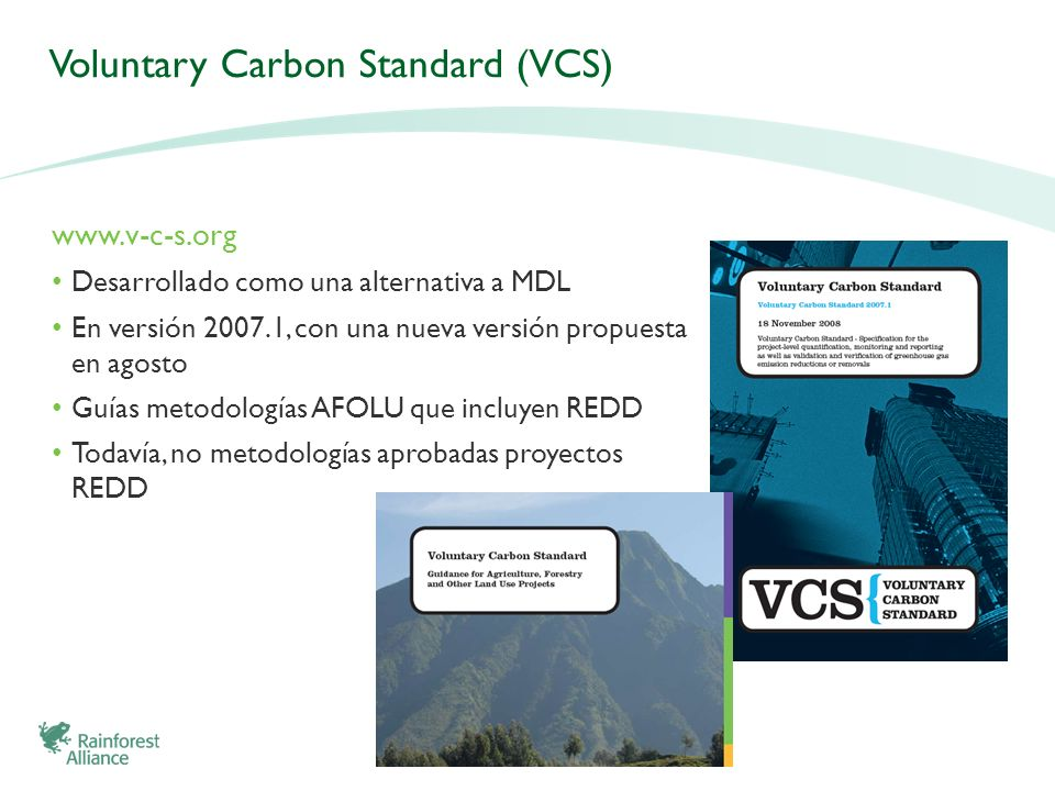 Voluntary Carbon Standard (VCS)