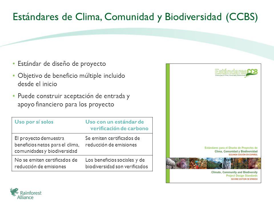Estándares de Clima, Comunidad y Biodiversidad (CCBS)