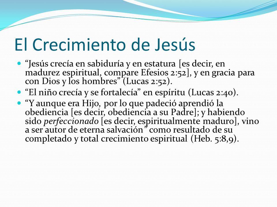 El Crecimiento de Jesús