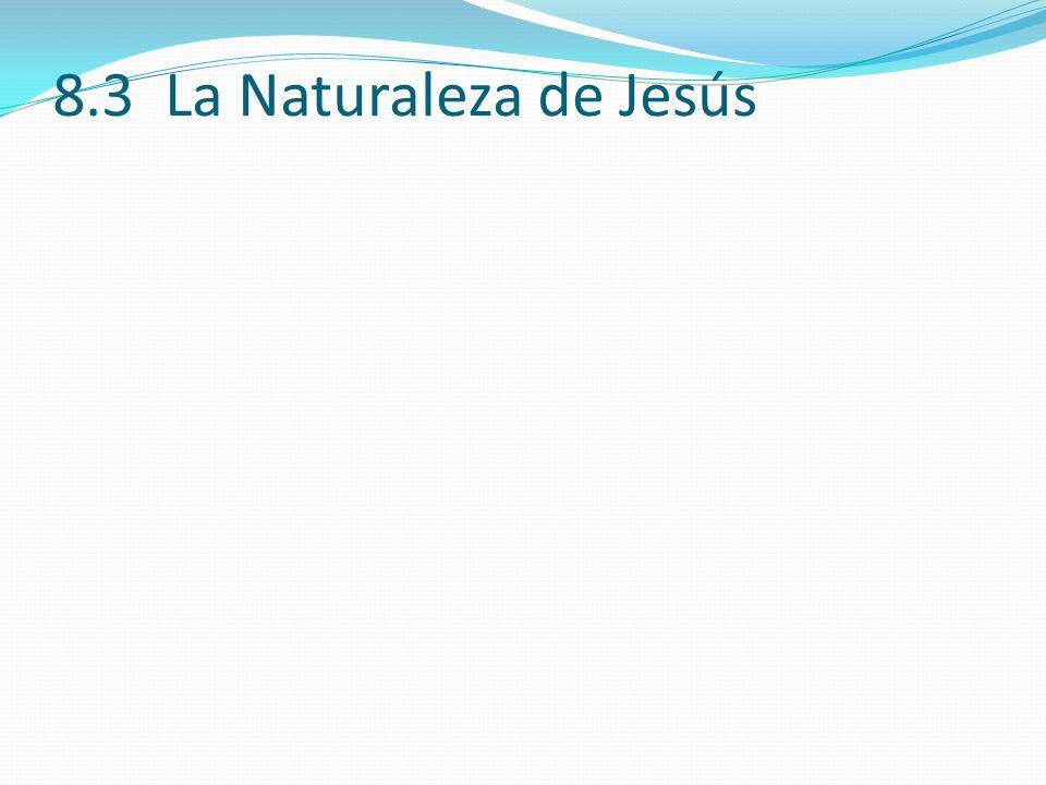 8.3 La Naturaleza de Jesús 8.3 (7)