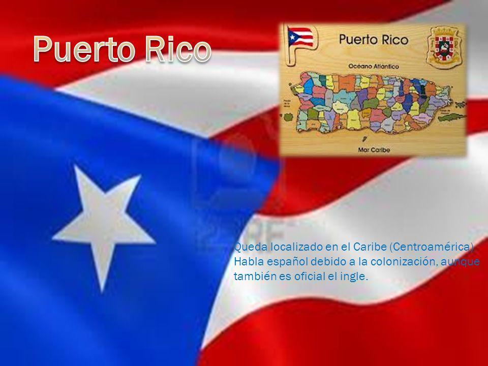 Puerto Rico Queda localizado en el Caribe (Centroamérica)