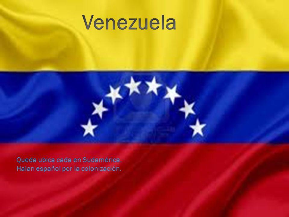 Venezuela Queda ubica cada en Sudamérica.