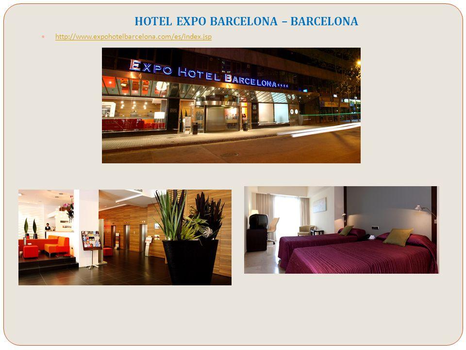 HOTEL EXPO BARCELONA – BARCELONA