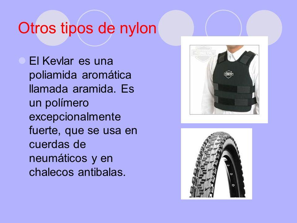 Otros tipos de nylon