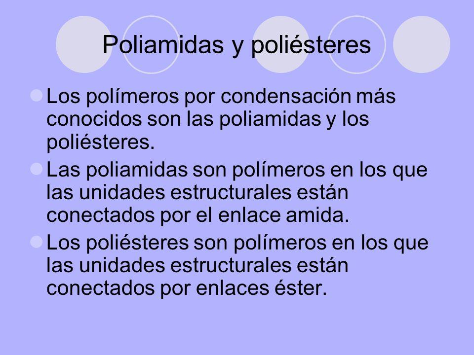 Poliamidas y poliésteres