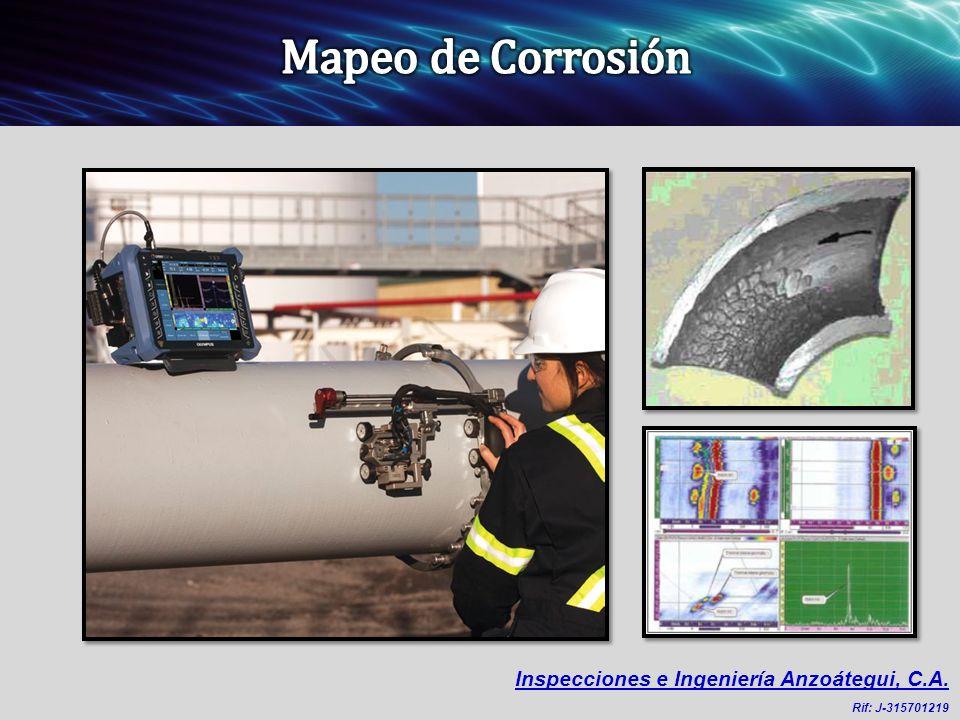 Mapeo de Corrosión Inspecciones e Ingeniería Anzoátegui, C.A. 4