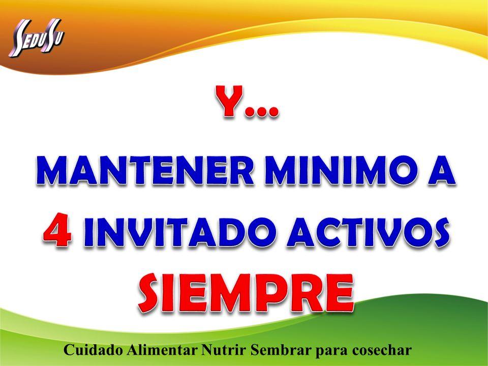 MANTENER MINIMO A 4 INVITADO ACTIVOS