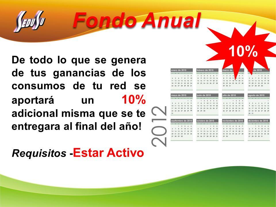 Fondo Anual 10%