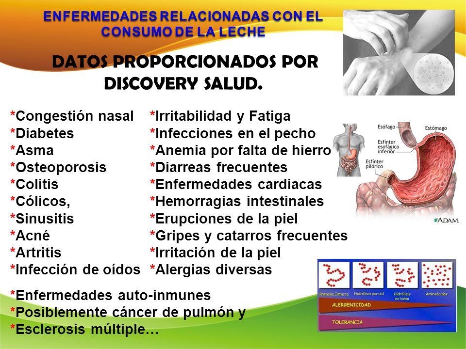 DISCOVERY SALUD. DATOS PROPORCIONADOS POR