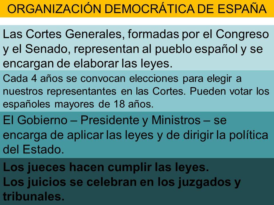 ORGANIZACIÓN DEMOCRÁTICA DE ESPAÑA