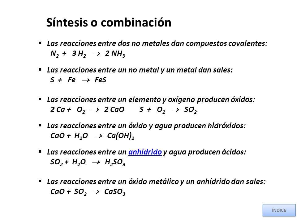 Síntesis o combinación