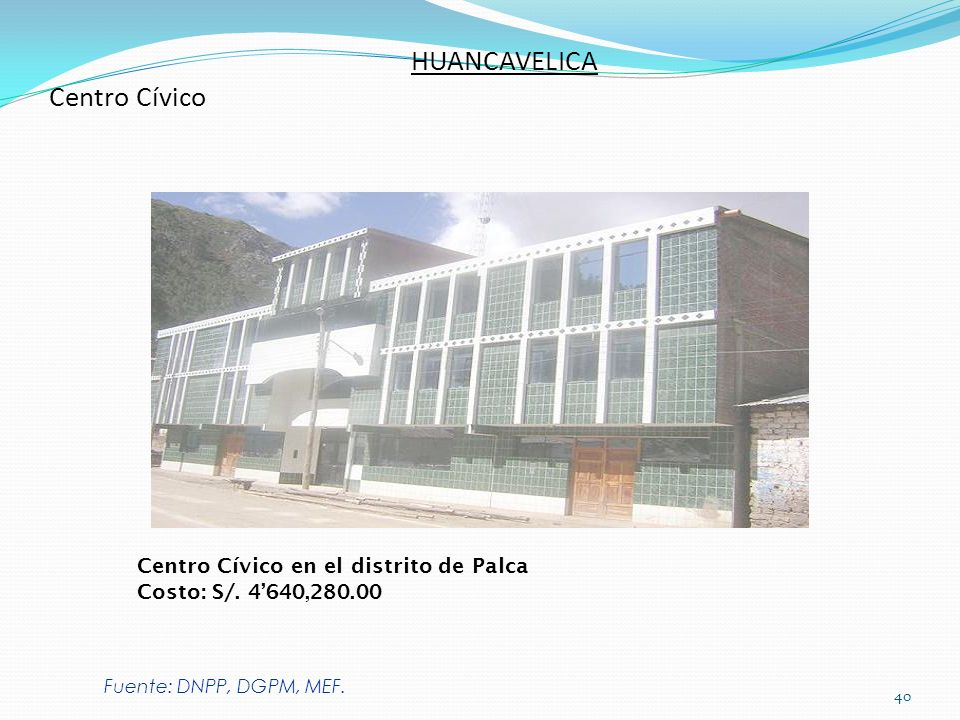 HUANCAVELICA Centro Cívico
