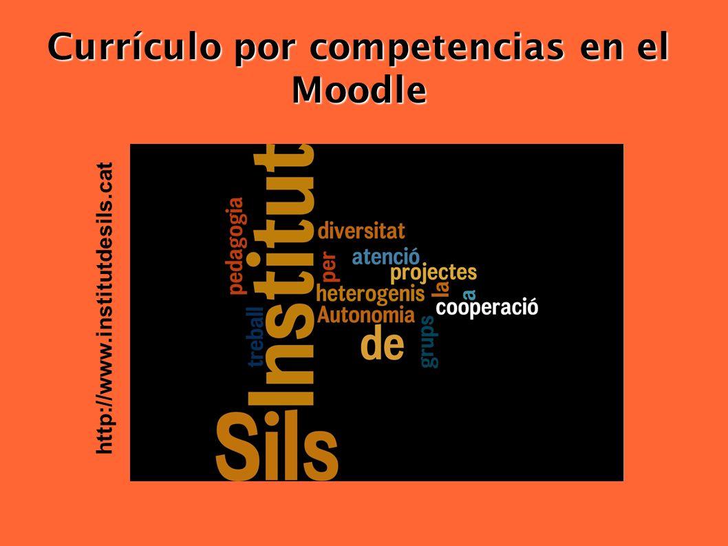 Currículo por competencias en el Moodle