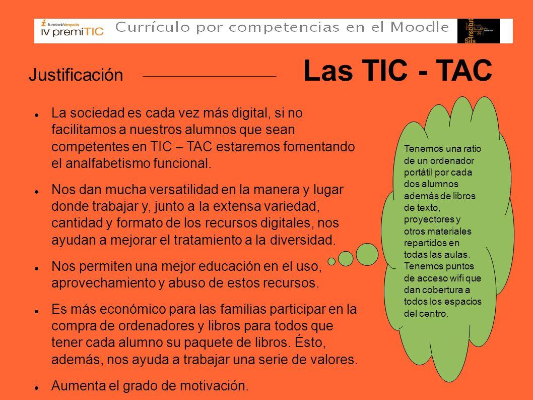 Justificación Las TIC - TAC