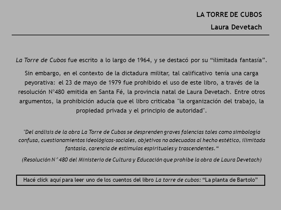 LA TORRE DE CUBOS Laura Devetach
