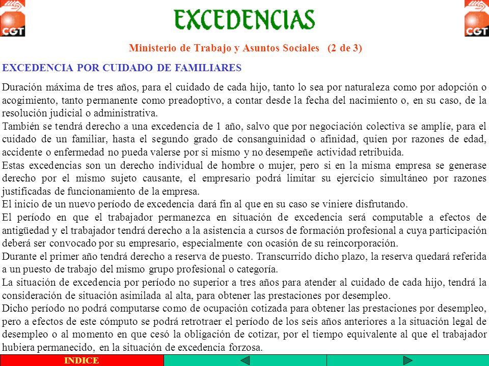 Ministerio de Trabajo y Asuntos Sociales (2 de 3)