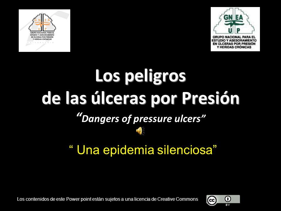 Los peligros de las úlceras por Presión Dangers of pressure ulcers