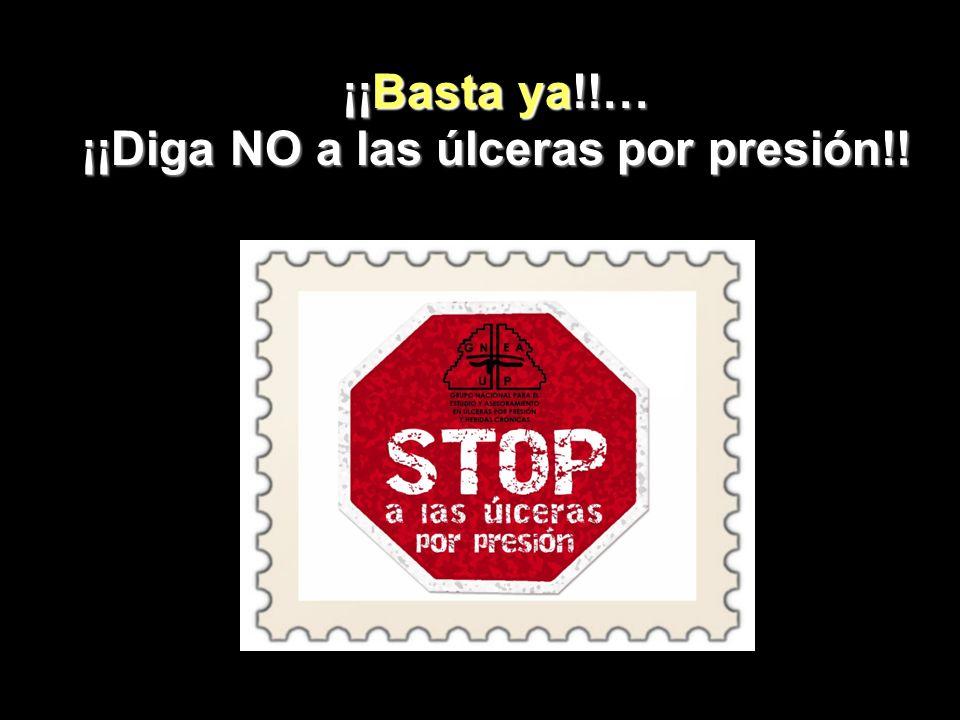 ¡¡Diga NO a las úlceras por presión!!