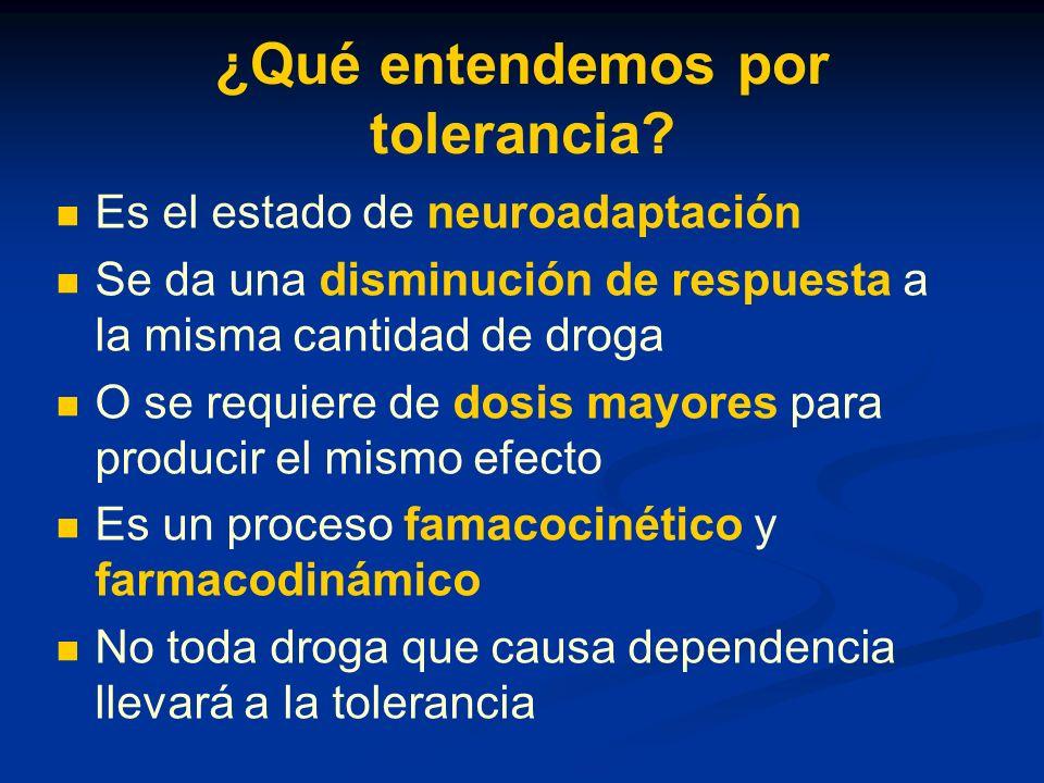 ¿Qué entendemos por tolerancia