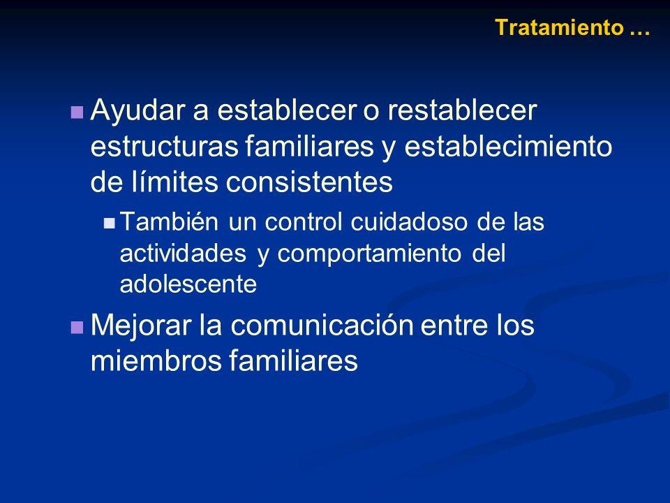 Mejorar la comunicación entre los miembros familiares