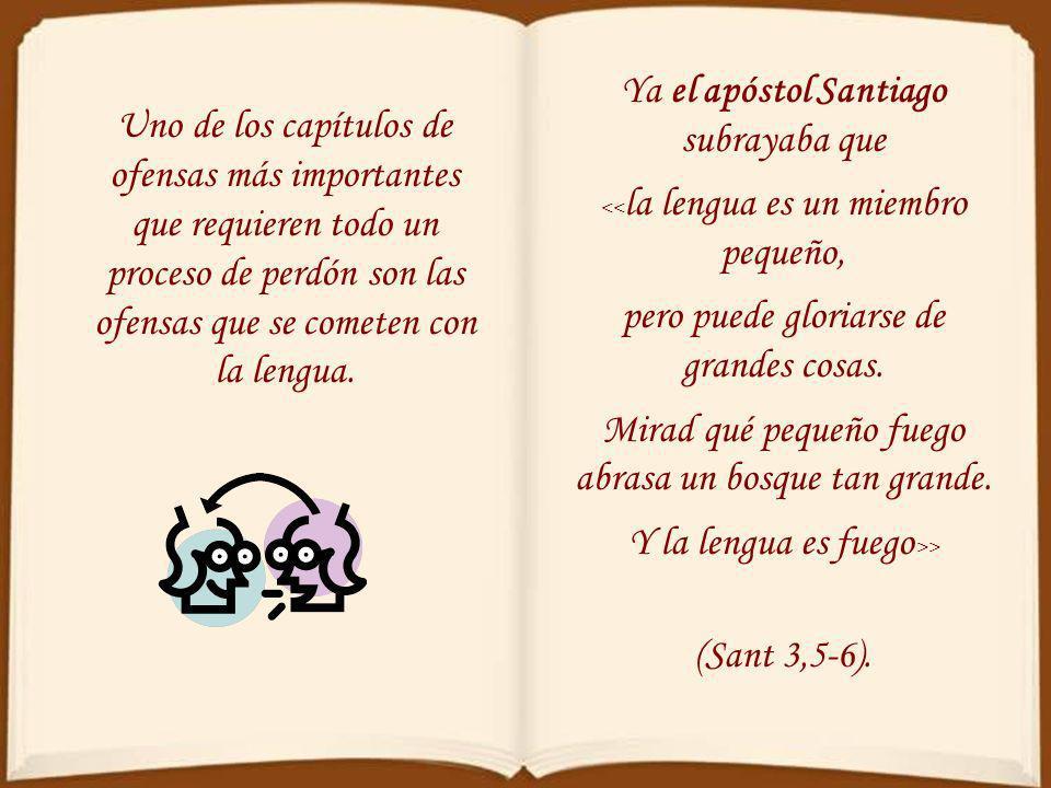 Ya el apóstol Santiago subrayaba que