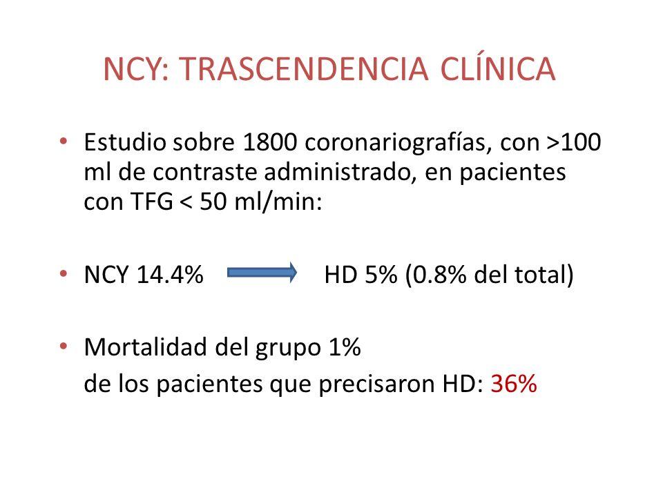 NCY: TRASCENDENCIA CLÍNICA