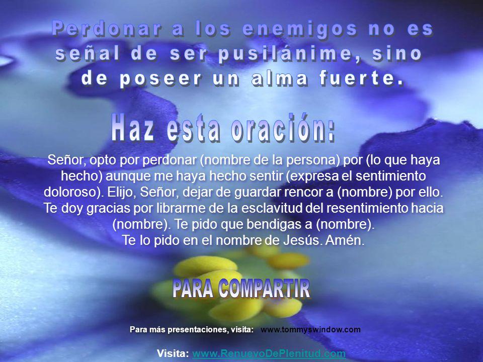 Visita: www.RenuevoDePlenitud.com