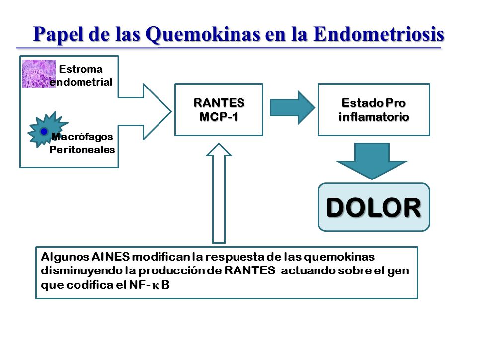 Papel de las Quemokinas en la Endometriosis