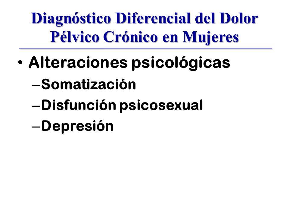 Diagnóstico Diferencial del Dolor Pélvico Crónico en Mujeres