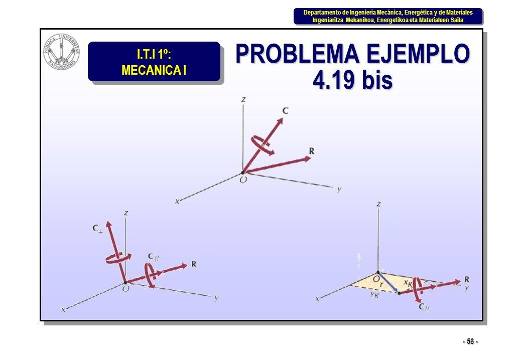 PROBLEMA EJEMPLO 4.19 bis