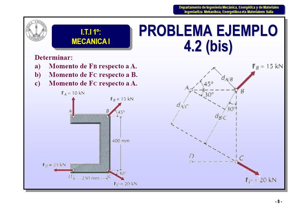 PROBLEMA EJEMPLO 4.2 (bis)