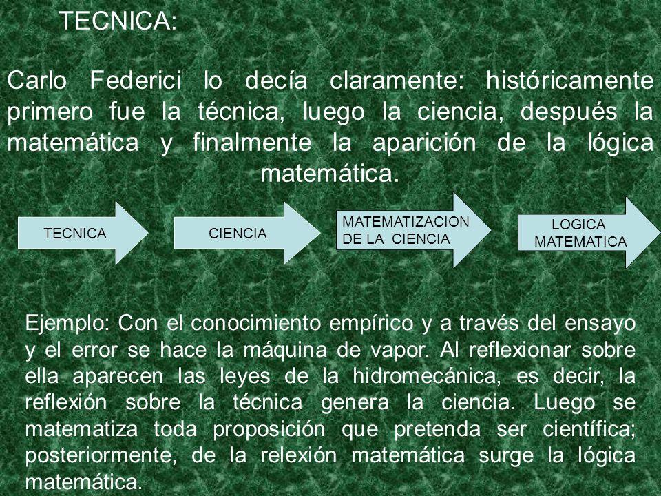 TECNICA: