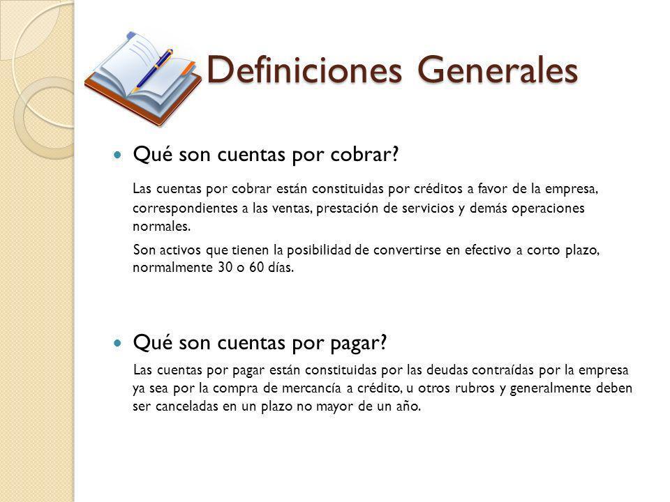 Definiciones Generales