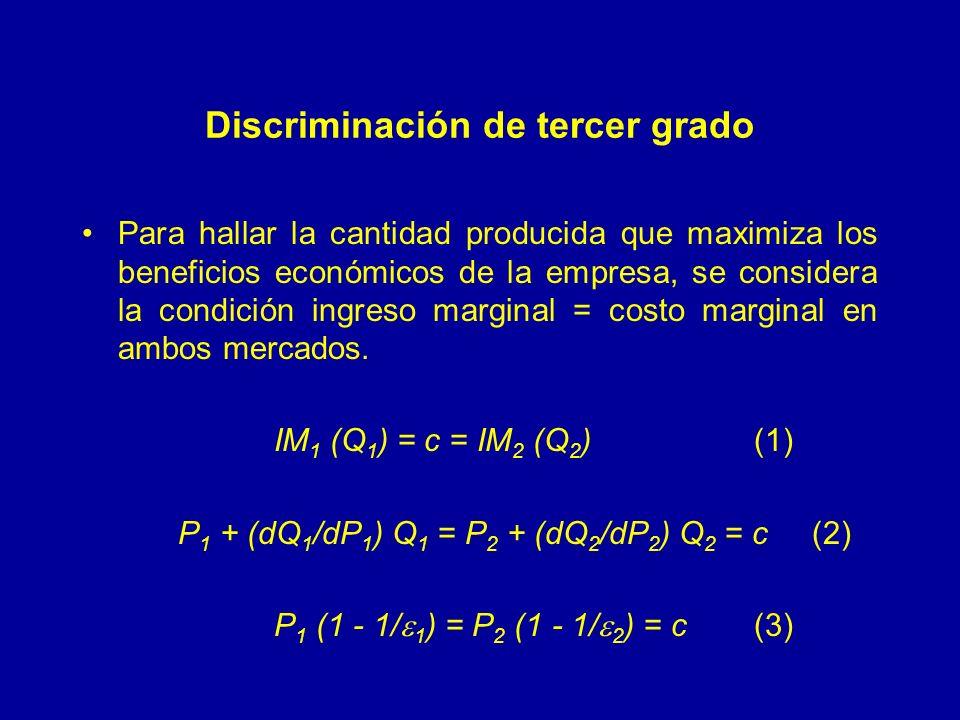 Discriminación de tercer grado