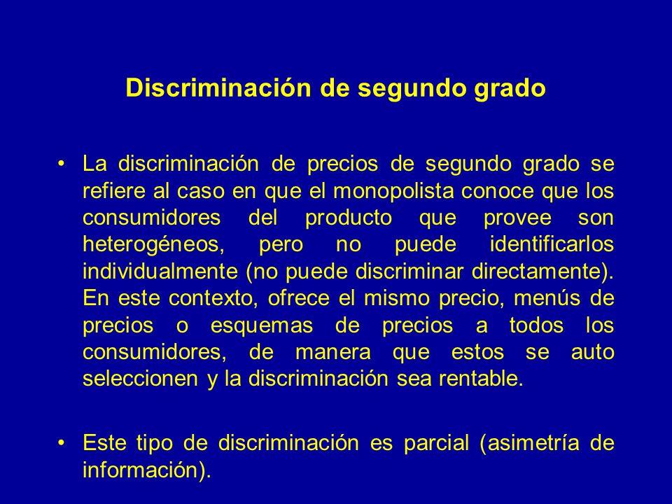 Discriminación de segundo grado
