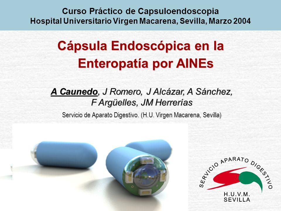 Cápsula Endoscópica en la Enteropatía por AINEs