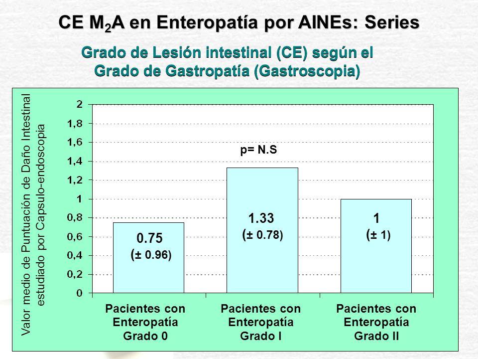 CE M2A en Enteropatía por AINEs: Series