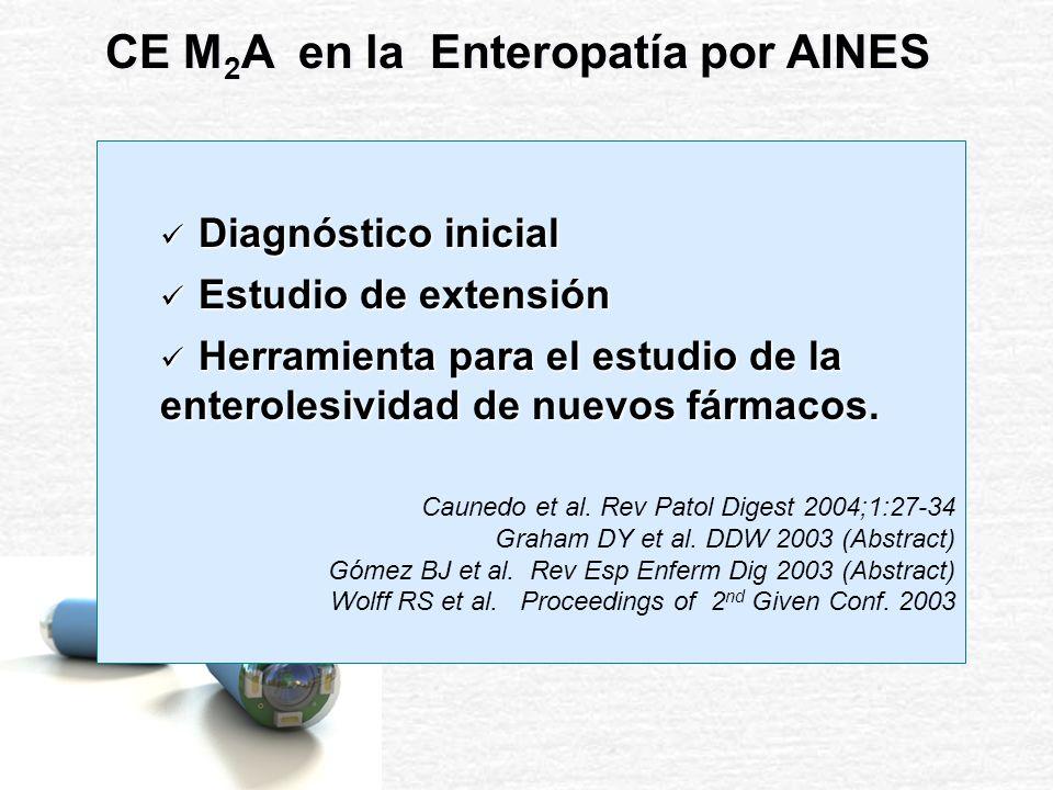 CE M2A en la Enteropatía por AINES