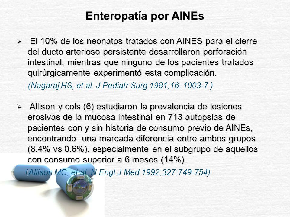Enteropatía por AINEs