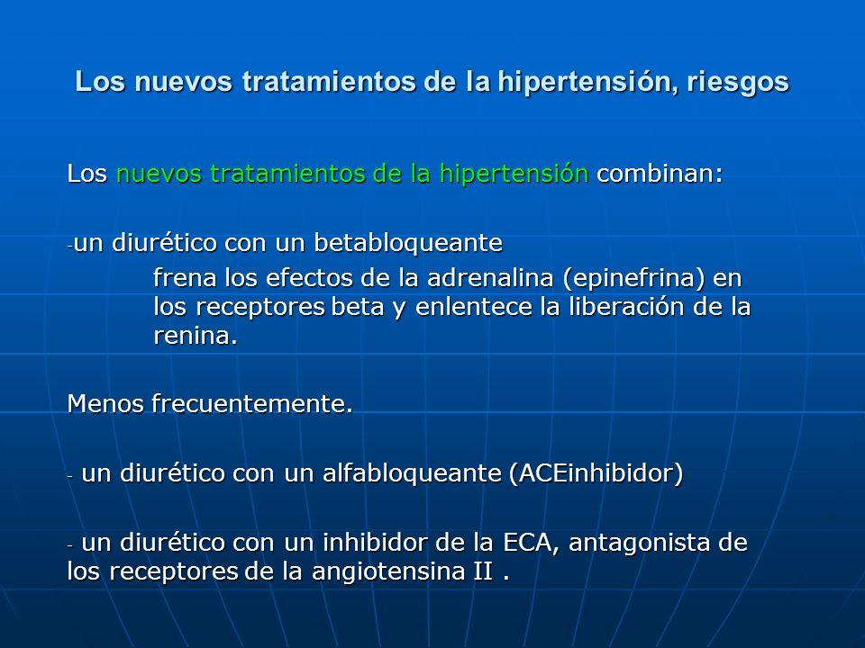 Los nuevos tratamientos de la hipertensión, riesgos